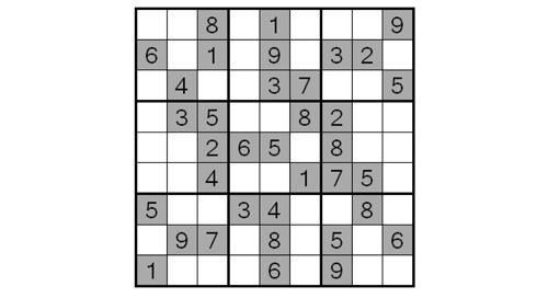 Spielregeln Sudoku