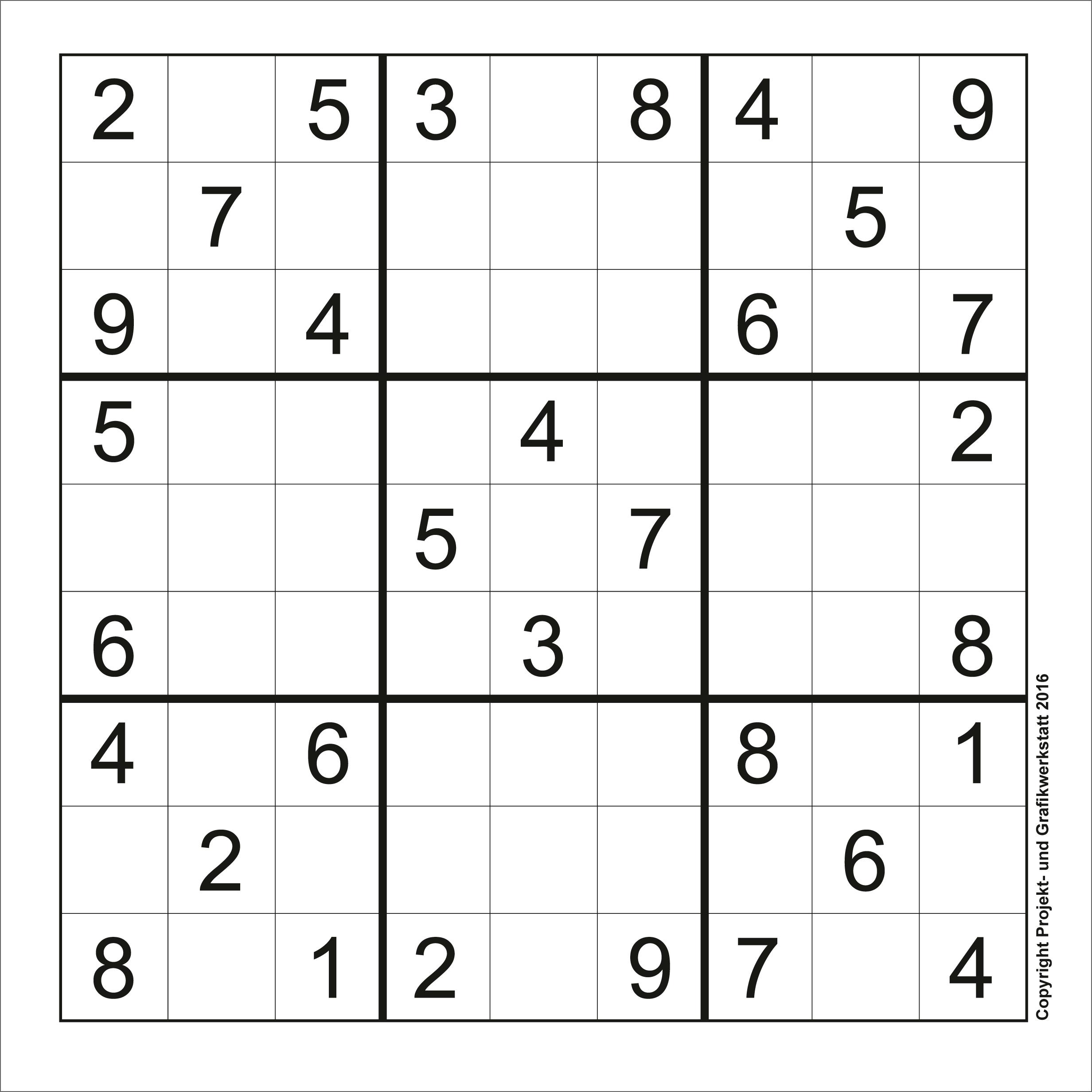 Sudoku Online Kostenlos